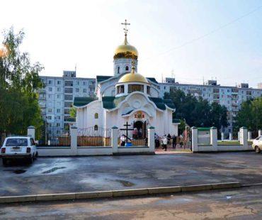храм в честь святых благоверных князей Петра и Февронии