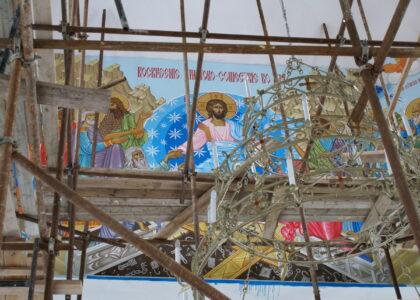 Поможем завершить роспись в тюремном храме